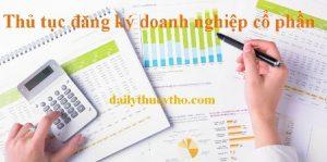 Thủ tục đăng ký doanh nghiệp cổ phần