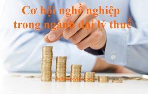 Cơ hội nghề nghiệp trong ngành đại lý thuế