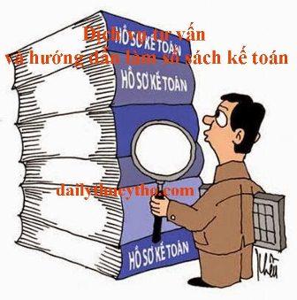 Dịch vụ tư vấn và hướng dẫn làm sổ sách kế toán
