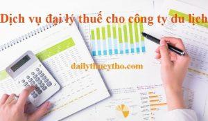Dịch vụ đại lý thuế cho công ty du lịch