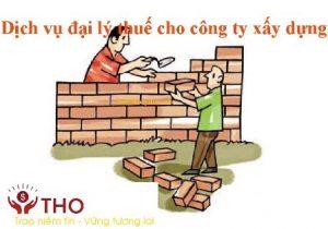 Dịch vụ đại lý thuế cho công ty xây dựng