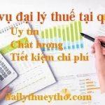Dịch vụ đại lý thuế tại quận 8