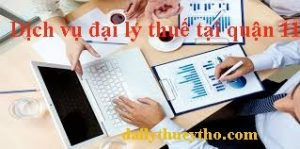 Dịch vụ đại lý thuế tại quận 11