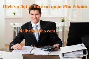 Dịch vụ đại lý thuế ở quận Phú Nhuận