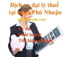 Dịch vụ đại lý thuế tại quận Phú Nhuận