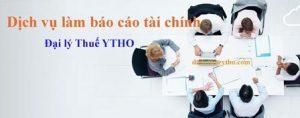 Dịch vụ làm báo cáo tài chính tại TP HCM