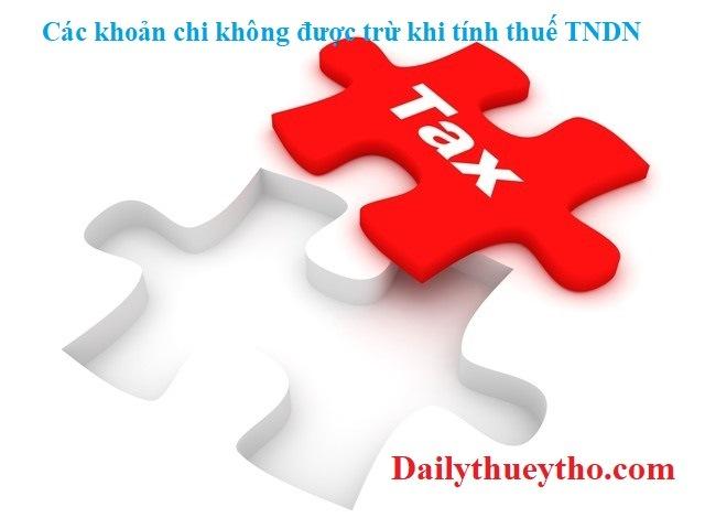 Chi phí lương không được trừ khi tính thuế mới nhất